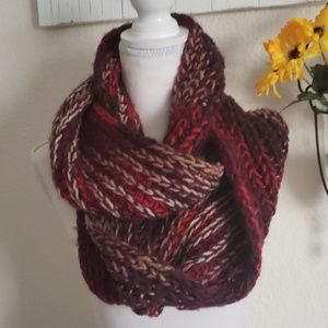 Lane Bryant Knit Texture Infinity Scarf